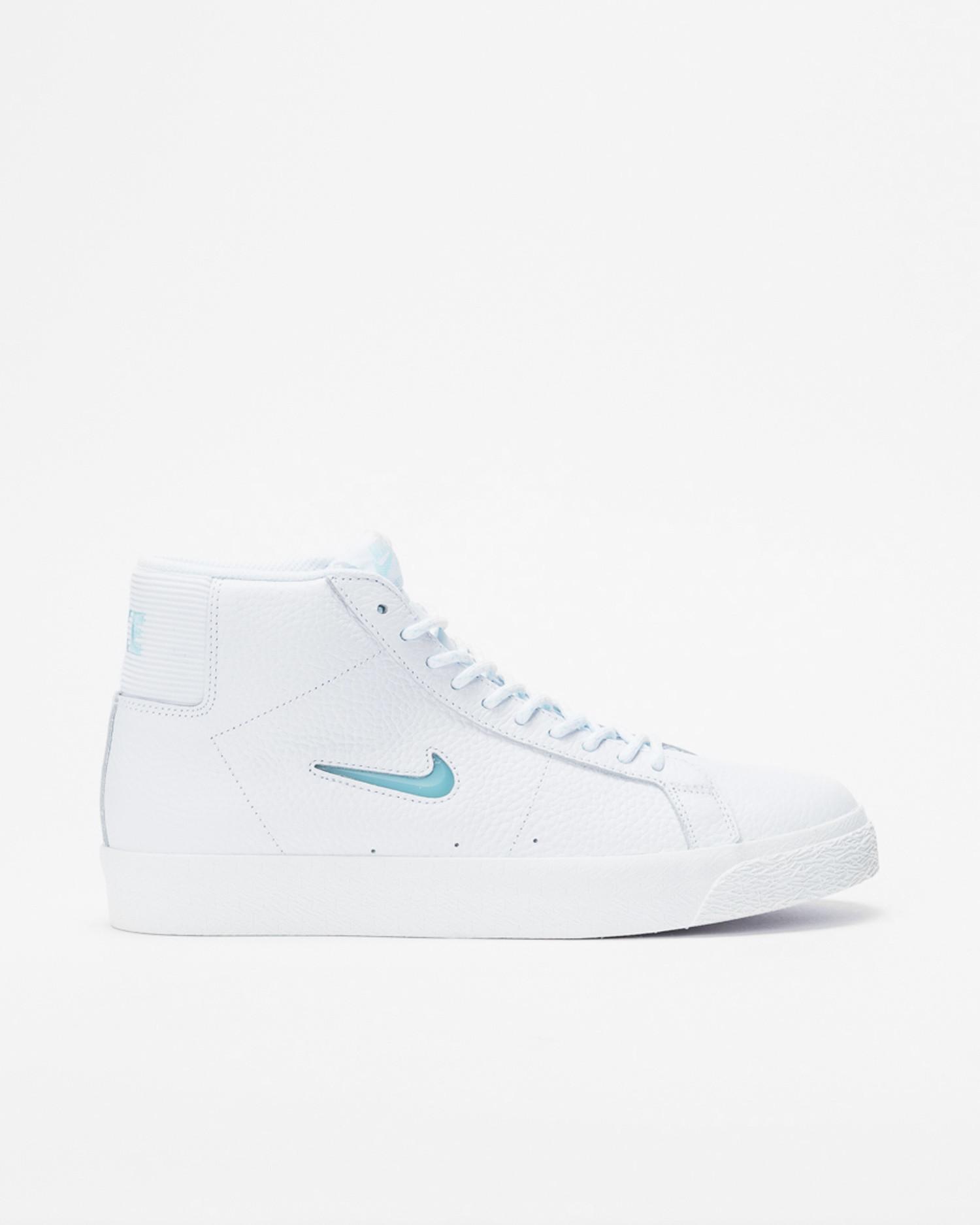 Nike SB Blazer Mid Premium WHITE/GLACIER ICE-WHITE-SUMMIT WHITE