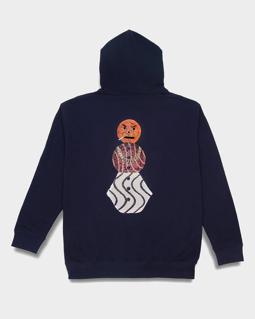 Quartersnacks Quartersnacks Classic Snackman Hoody Navy