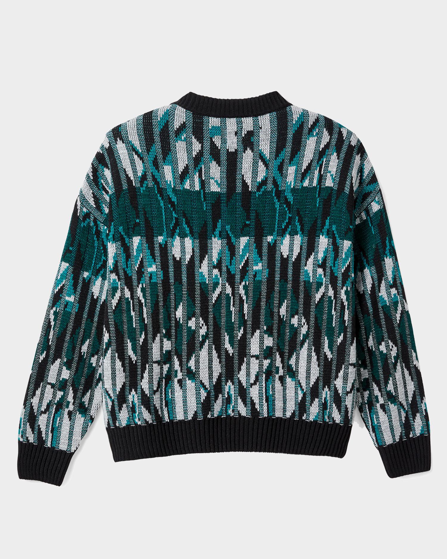 Polar Crewneck Paul Knit Sweater Black