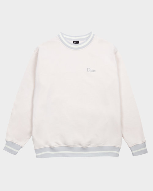 Dime Dime Classic French Terry Crewneck Cream