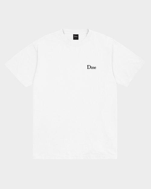 Dime Dime Classic Small Logo T-shirt White