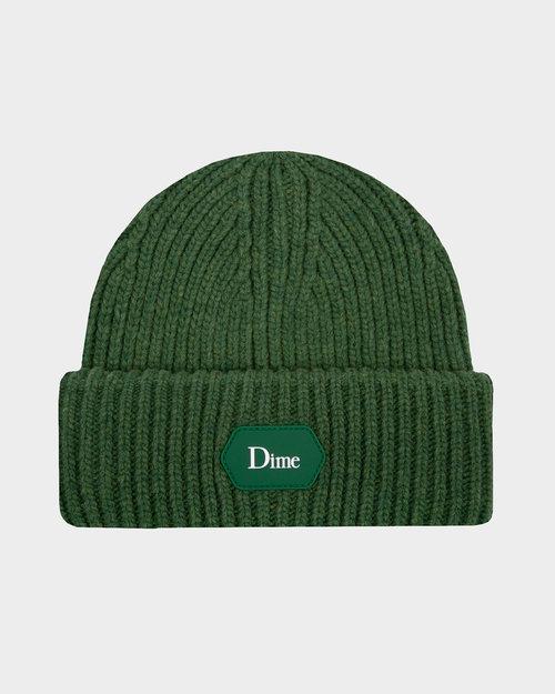Dime Dime Classic Soft Rib Beanie Light Green