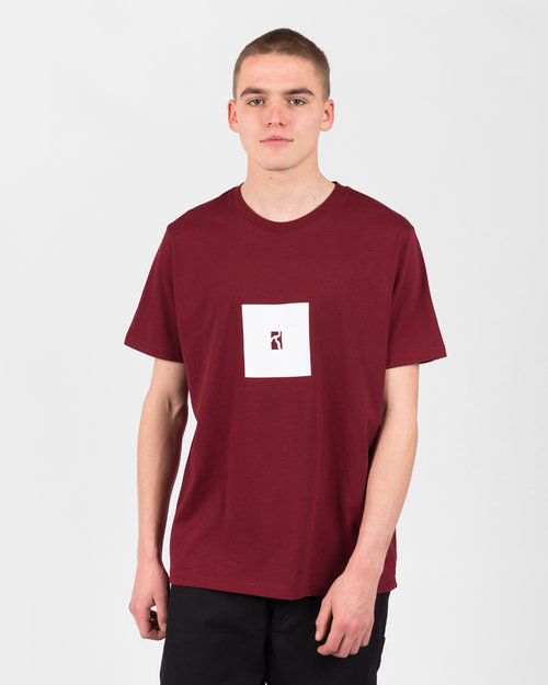 Poetic Collective Poetic Collective Box T Burgundy