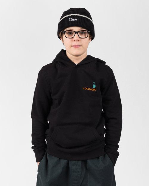 Lockwood Lockwood Kids Embroidery Hoody Black