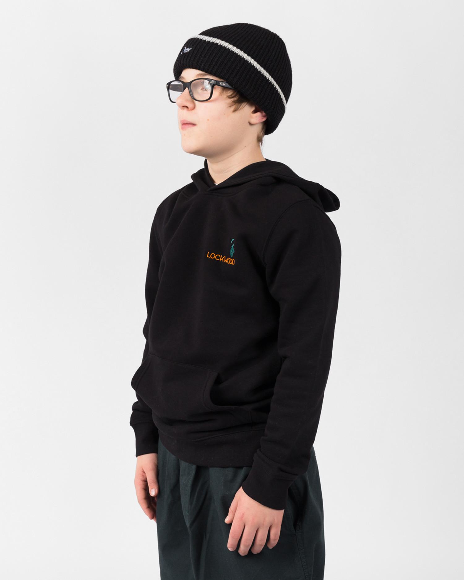 Lockwood Kids Embroidery Hoody Black