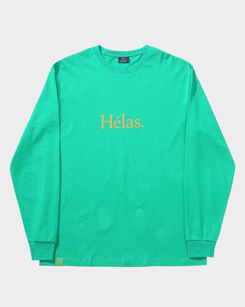 Helas Helas Class Longsleeve Tee Green