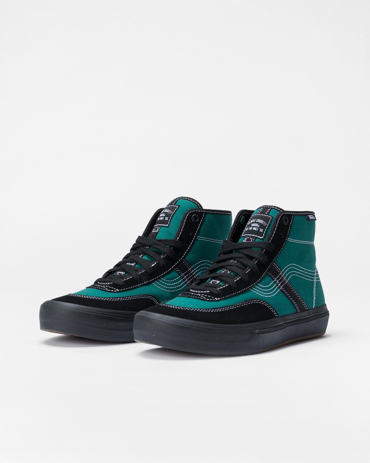 Vans X Quasi Crockett High Pro LTD Antique Green