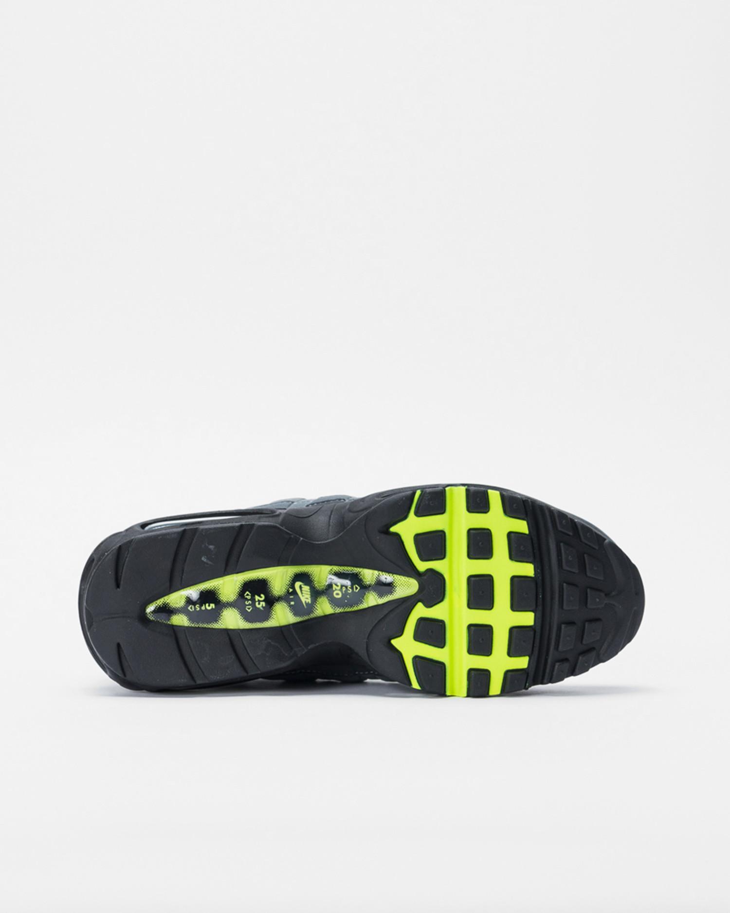 Nike Air Max 95 OG Black/neon yellow-lt graphite