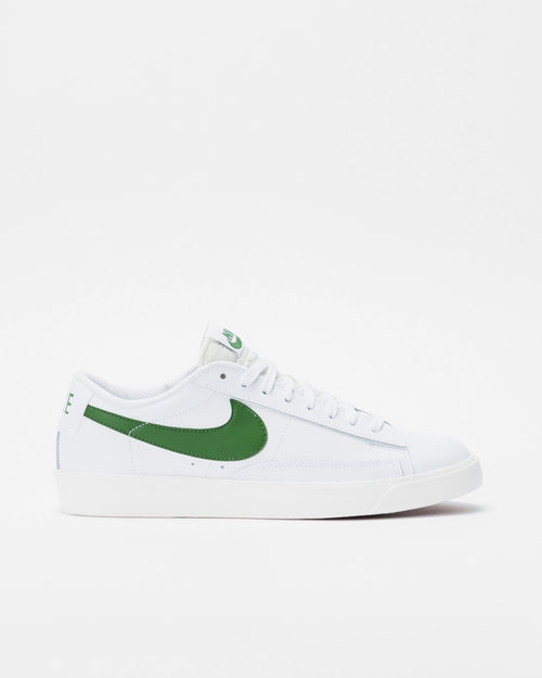 Nike Nike Blazer Low Leather White/Forest Green-Sail