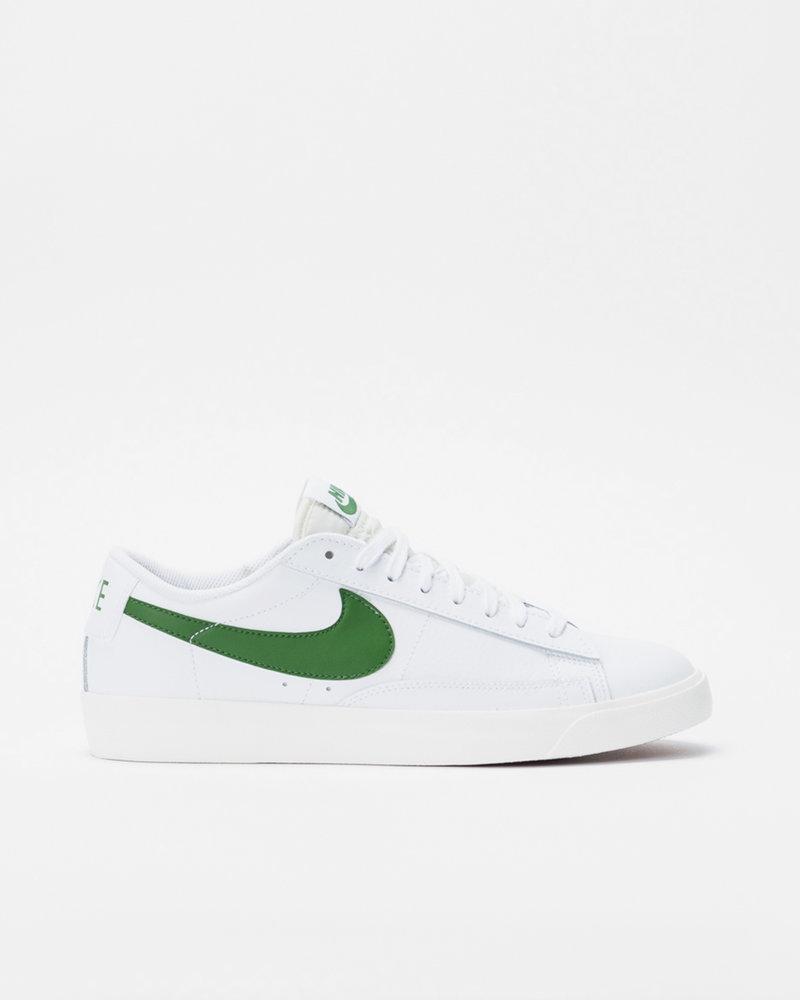 Nike Nike Blazer Low Leather White/Forest Green-Sail