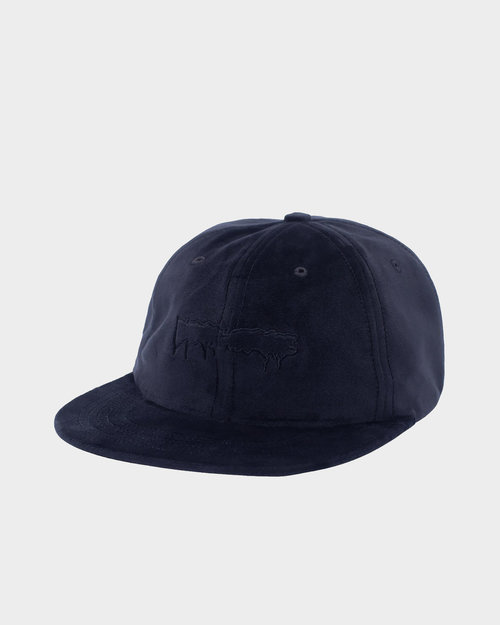 Fucking Awesome Fucking Awesome Stamp Unstructured Strapback Black