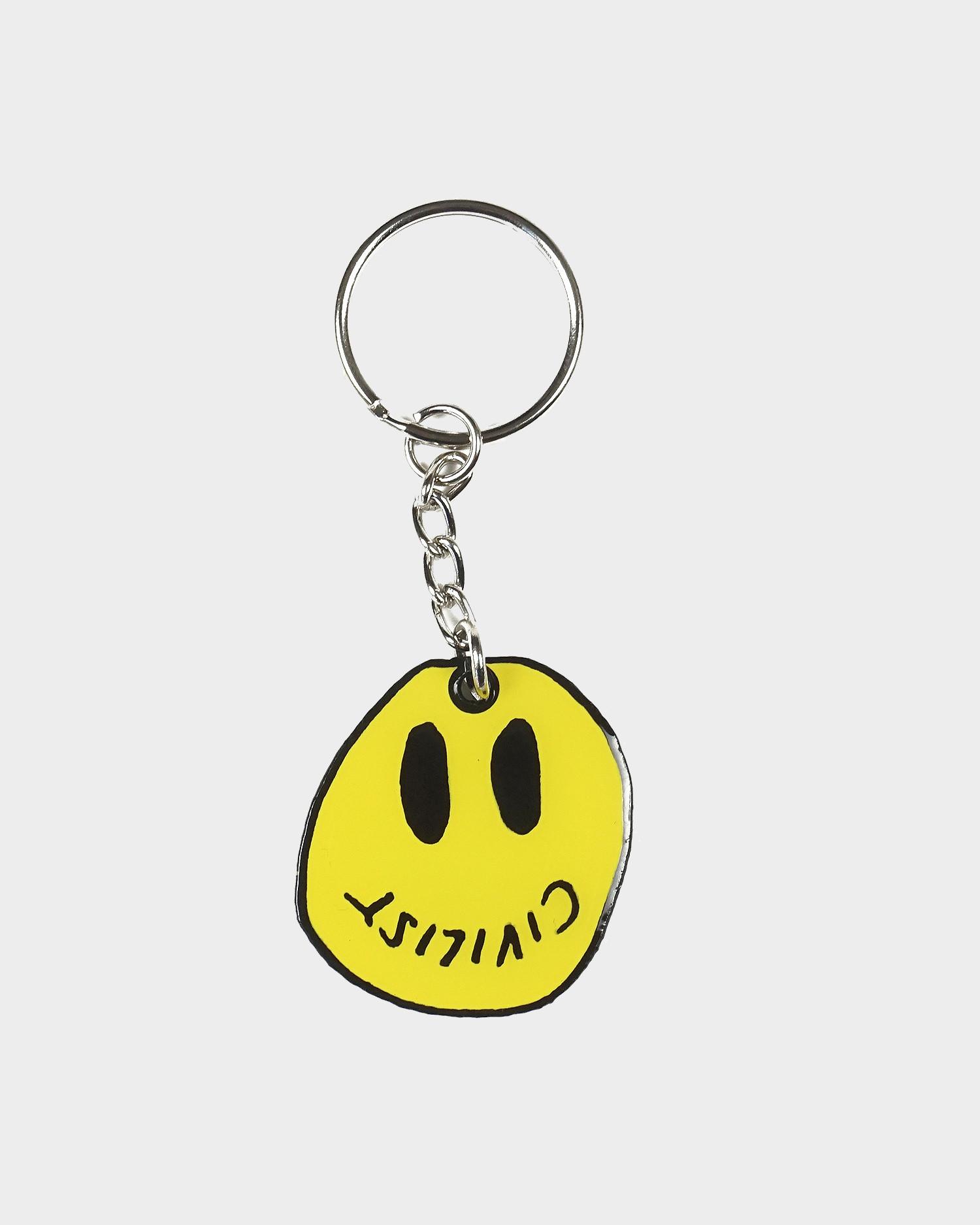 Civilist Smiler Keychain