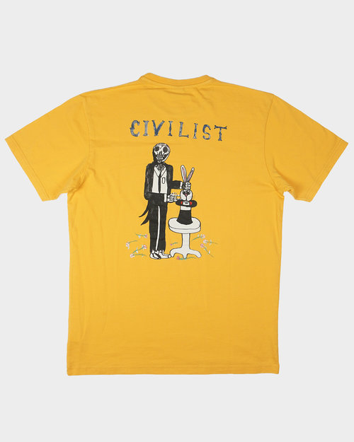 Civilist Civilist LSD Magician Tee Old Yellow