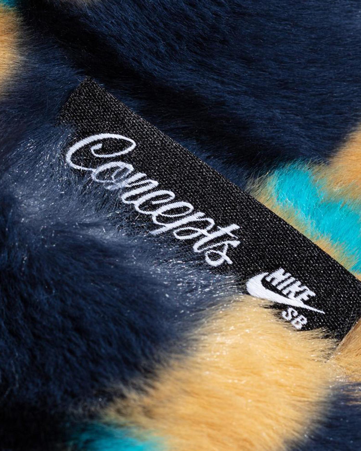 """Nike SB x CONCEPTS """"TurDUNKen"""" Jacket Dark Obsidian"""