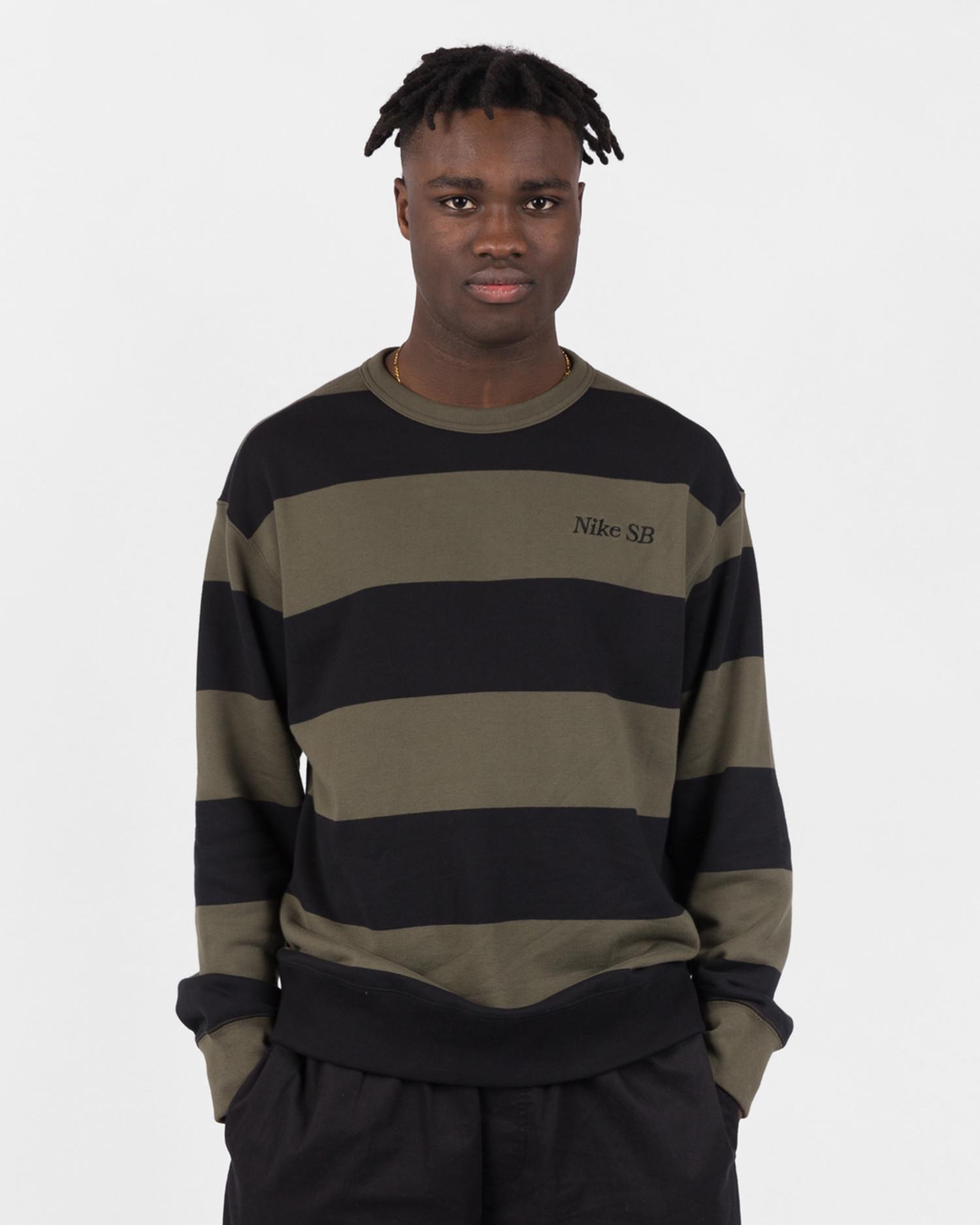 Nike SB Crewneck Cargo Khaki/Black/Black