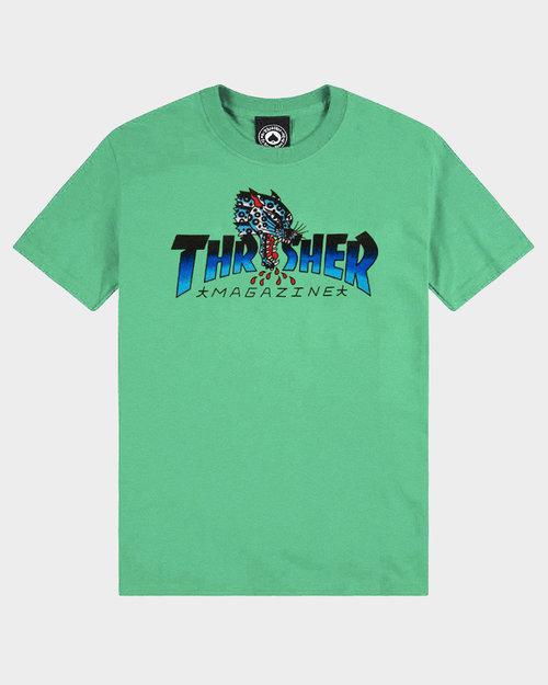 Thrasher Thrasher Leopard Mag Shortsleeve Mint