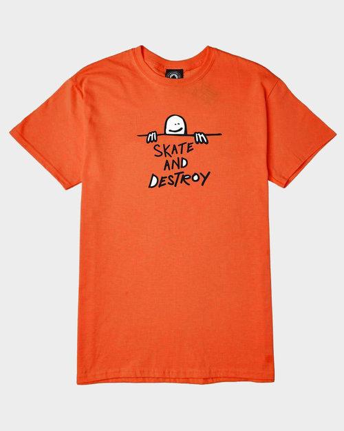 Thrasher Thrasher Gonz Sad Logo Shortsleeve Orange