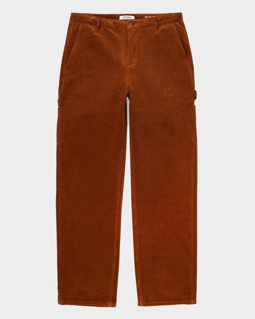 Carhartt Carhartt W' Pierce Pant Straight Cotton Brandy Rinsed