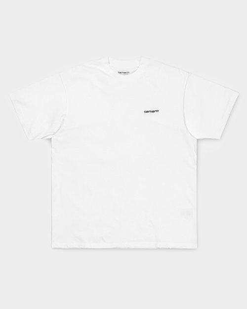Carhartt Carhartt Shortsleeve Script Embroidery T-Shirt White/Black