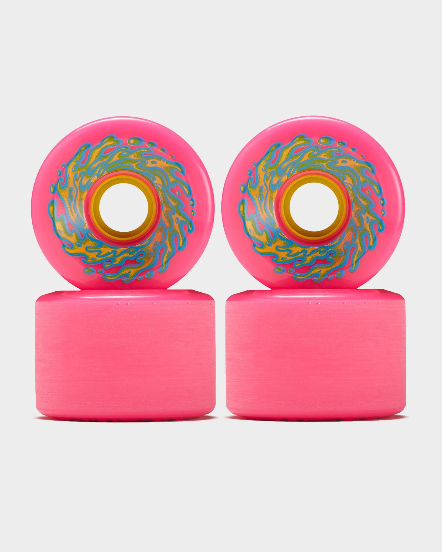 Santa Cruz Slime balls OG's wheels 78A Neopink 66 mm