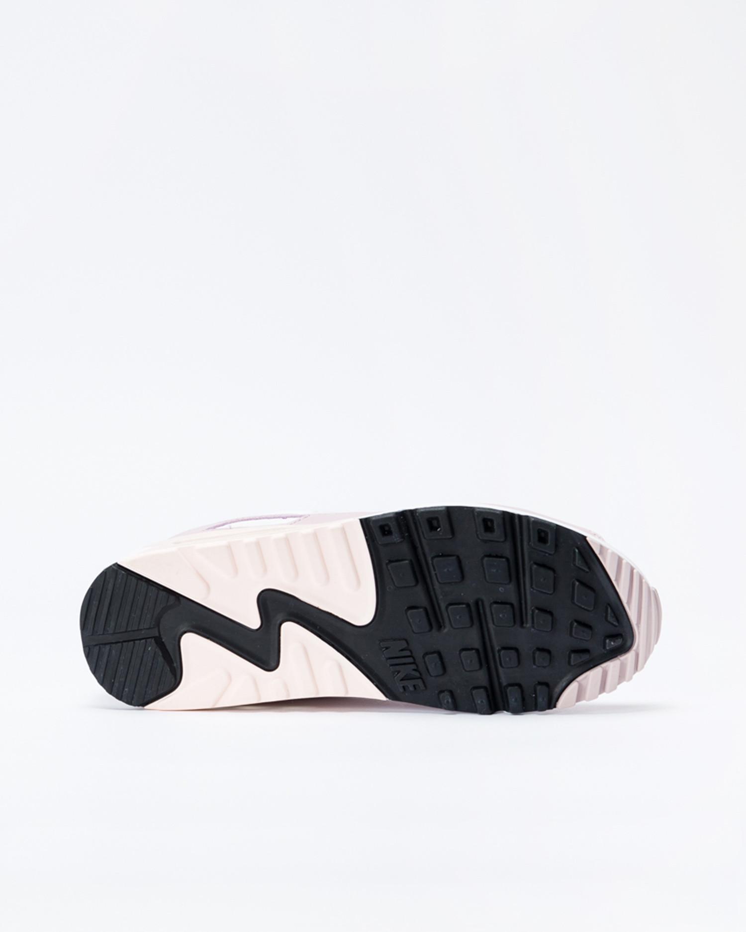 Nike W air max 90 White/white-champagne-light violet
