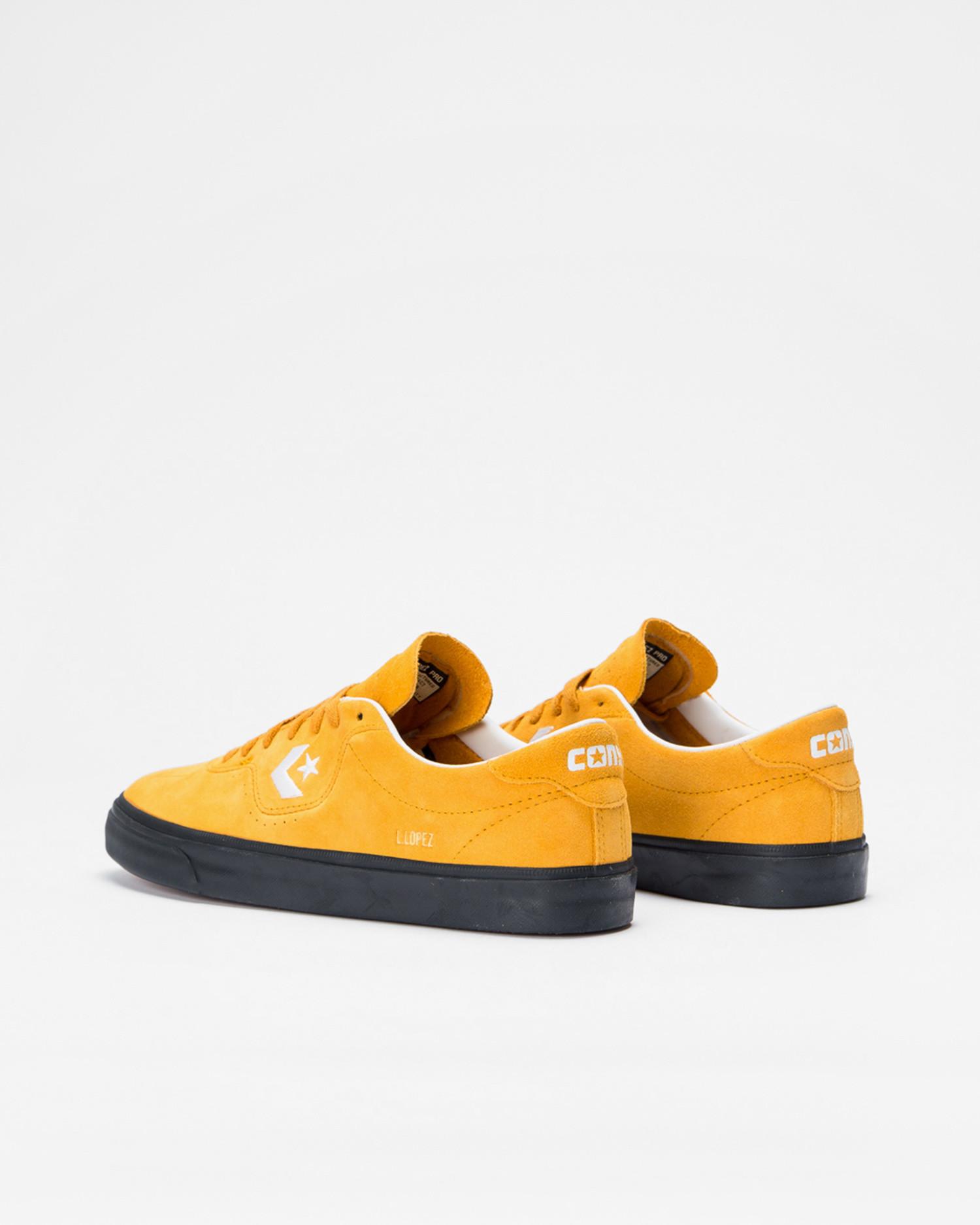 Converse Louie Lopez Pro Ox Saffron Yellow/White