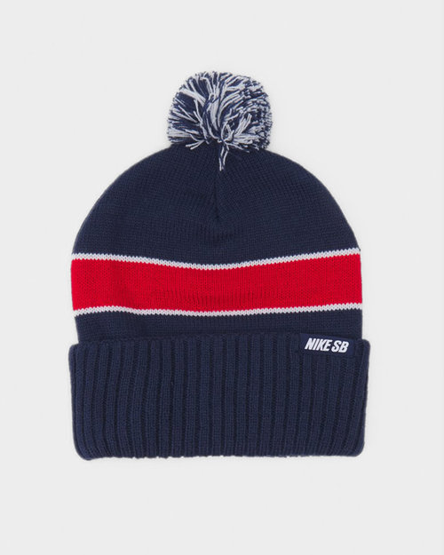 Nike Nike SB Beanie Midnight Navy/University Red/White/White