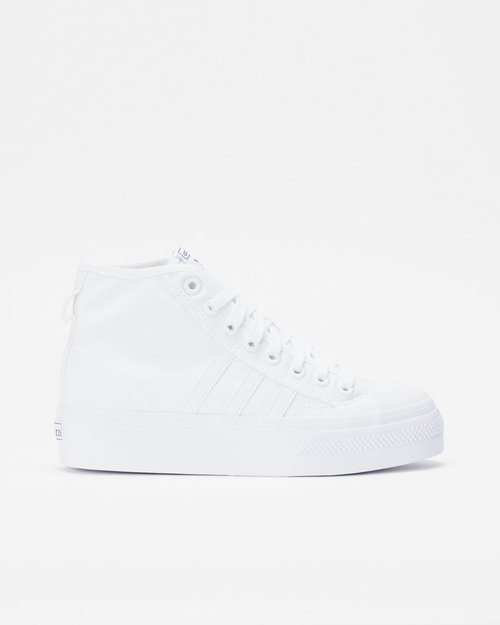 Adidas Adidas Nizza Platform Mid Ftwwht/Ftwwht