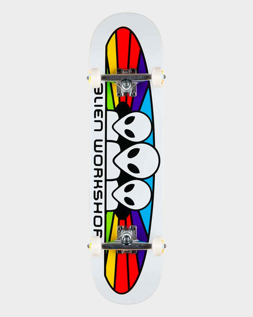 Habitat Alien Workshop Complete Spectrum White 7.75