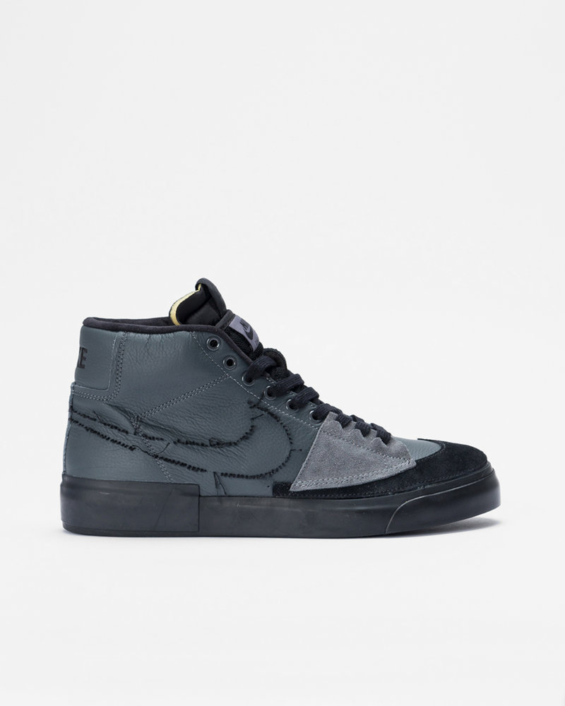 Nike Nike Sb Blazer Mid Edge Iron Grey/Black-Black