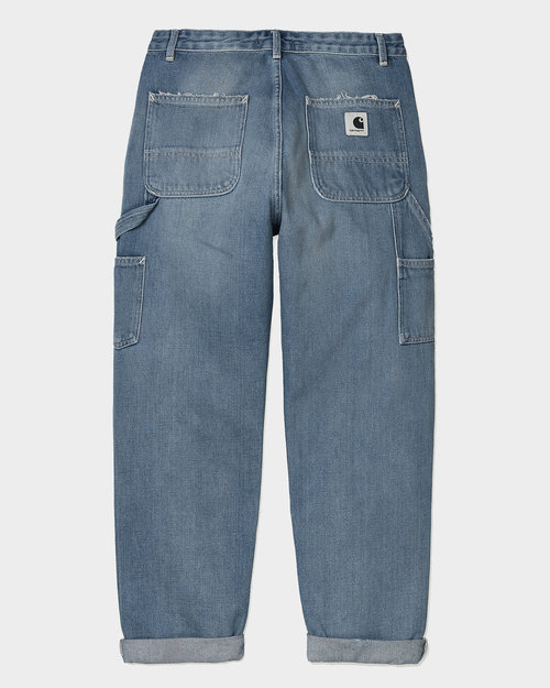 Carhartt Carhartt W'Pierce Pant Blue Light Stone Washed