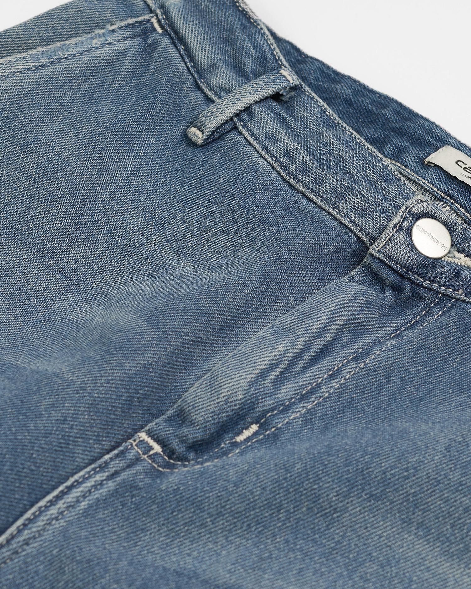Carhartt W'Pierce Pant Blue Light Stone Washed
