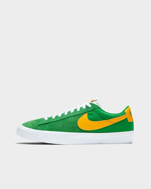 Nike Nike SB Zoom Blazer Low Pro SB Lucky Green/University Gold-Black-White