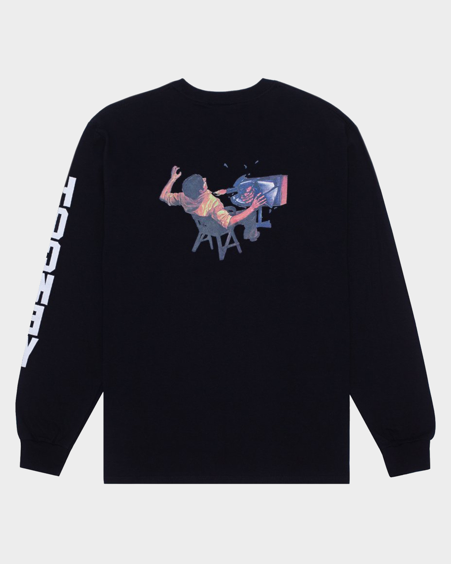 Hockey Ultraviolence Longsleeve T-Shirt Black