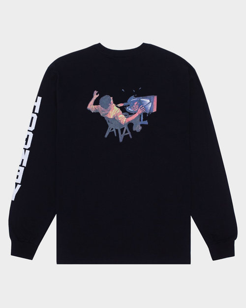 Hockey Hockey Ultraviolence Longsleeve T-Shirt Black