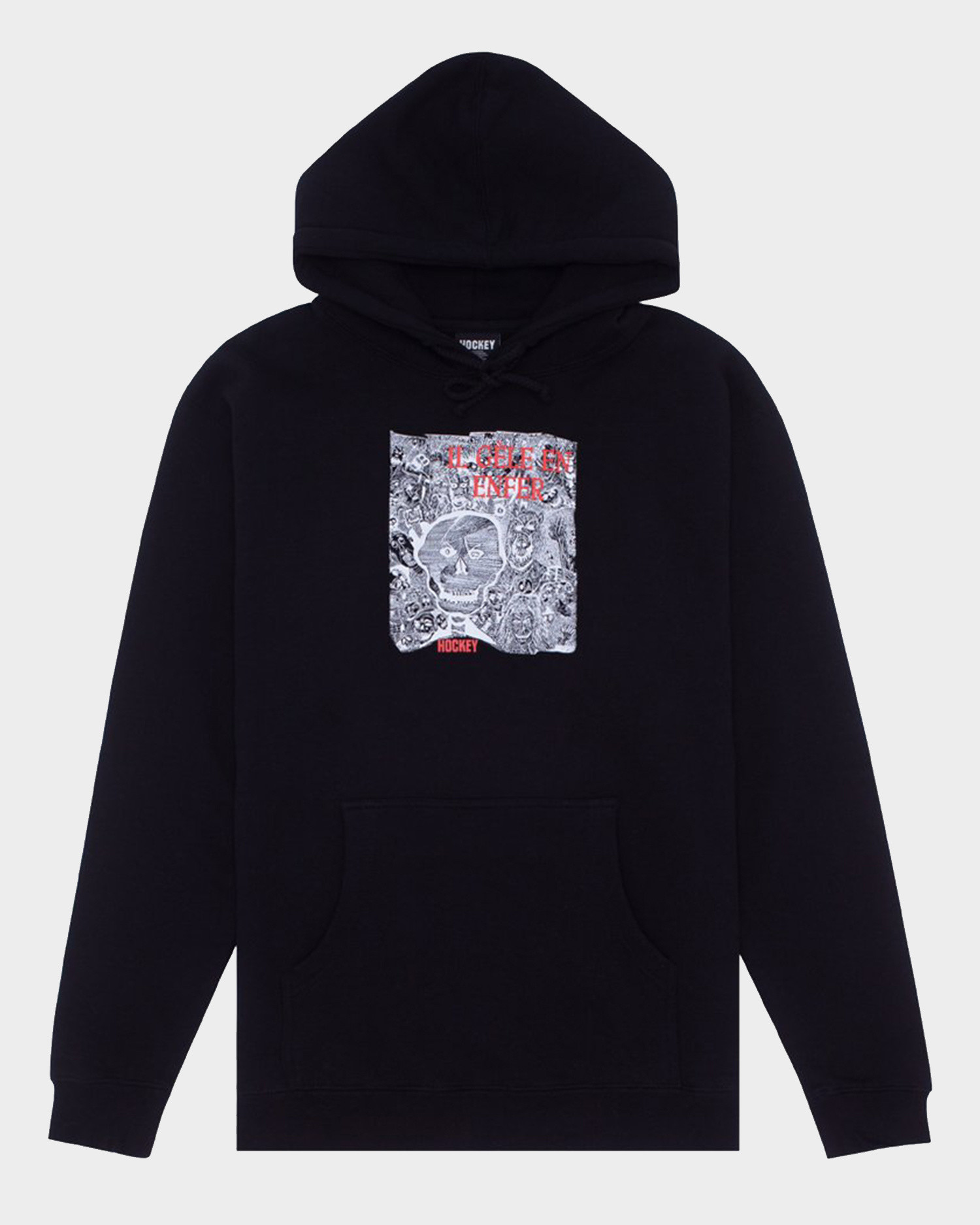 Hockey Disruption Hoodie Black