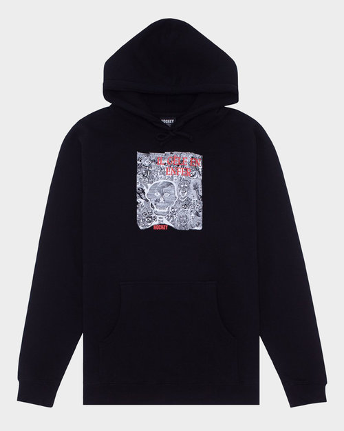 Hockey Hockey Disruption Hoodie Black
