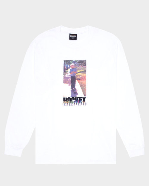 Hockey Hockey Neighbor Longsleeve T-Shirt White