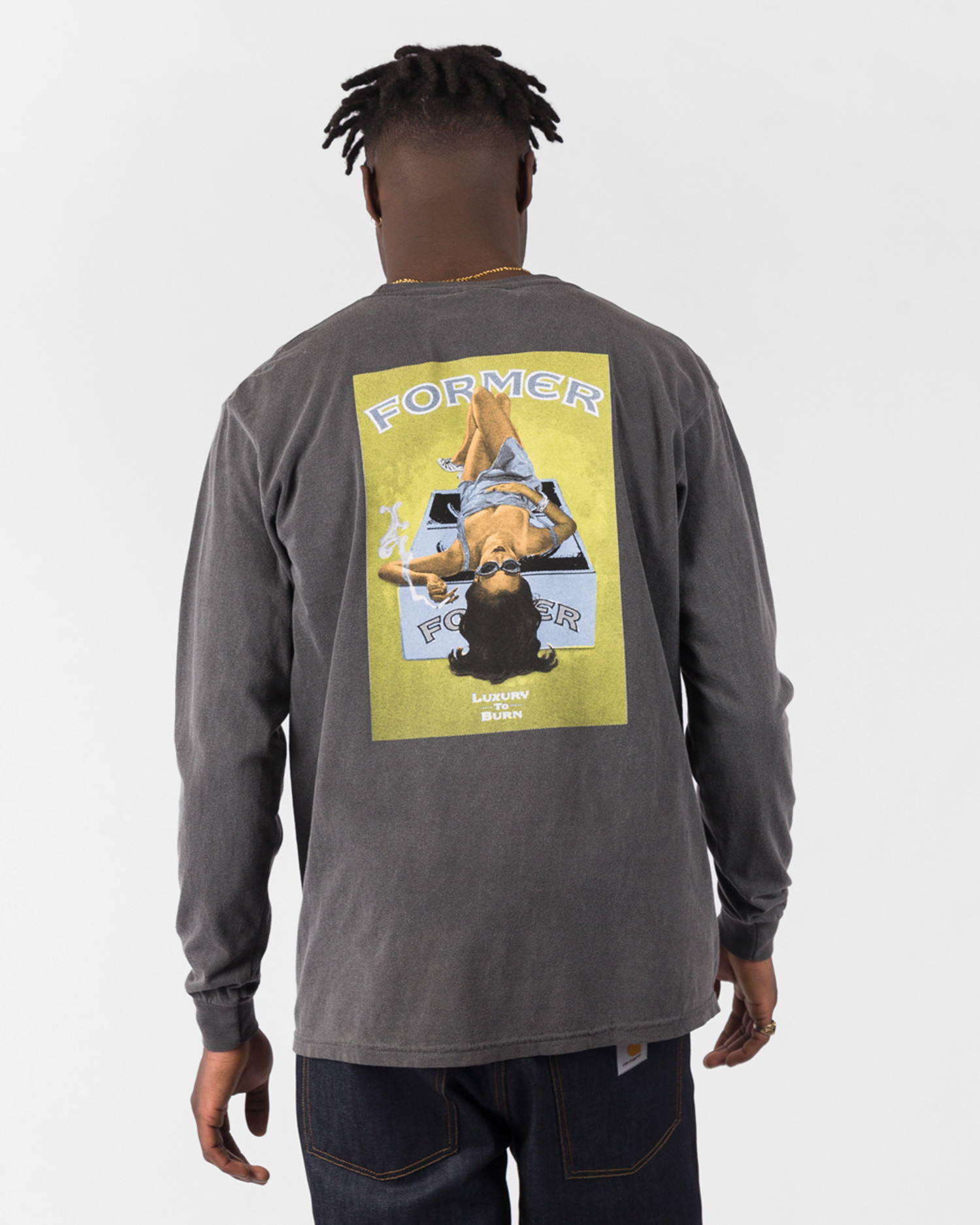 Former Lux To Burn Longsleeve Pepper/Gold