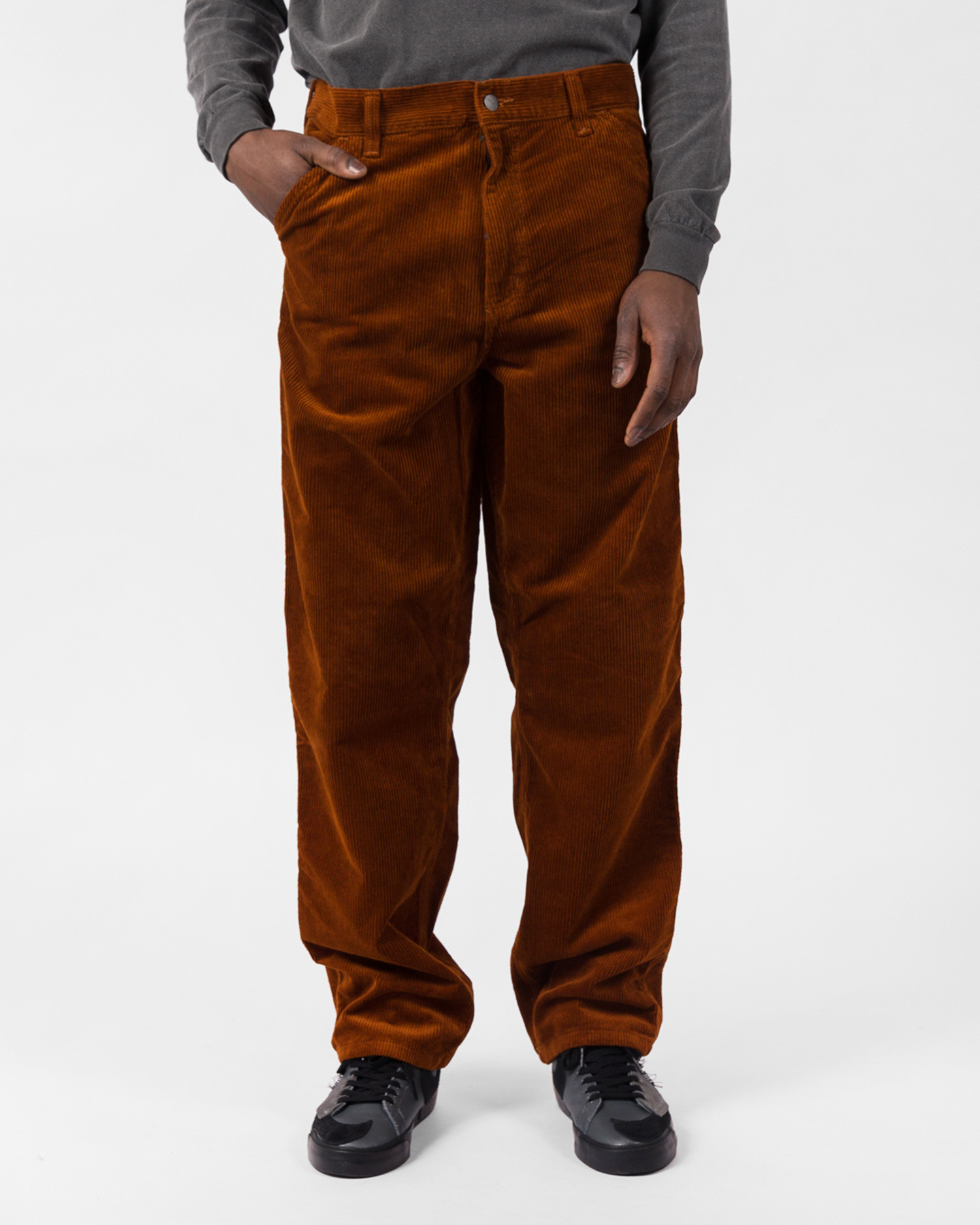 Carhartt Single Knee Pant Cotton Brandy Rinsed