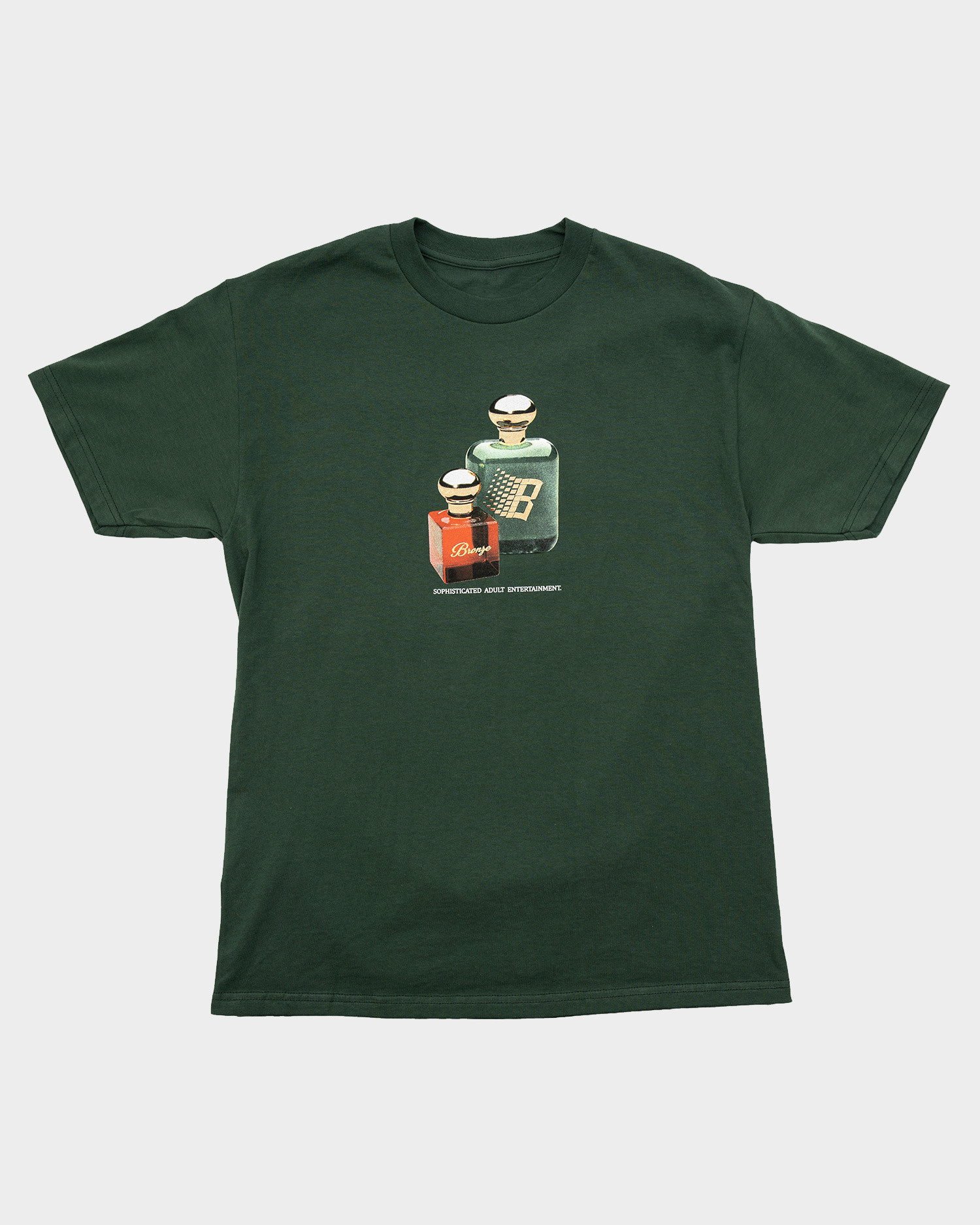 Bronze Fragrance Tee Forest Green