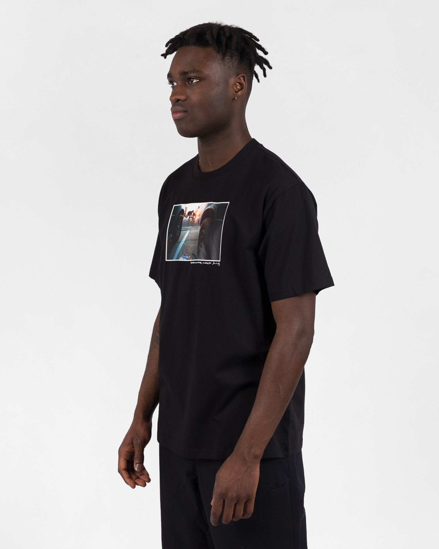 Adidas Omeally Shortsleeve Tee Black