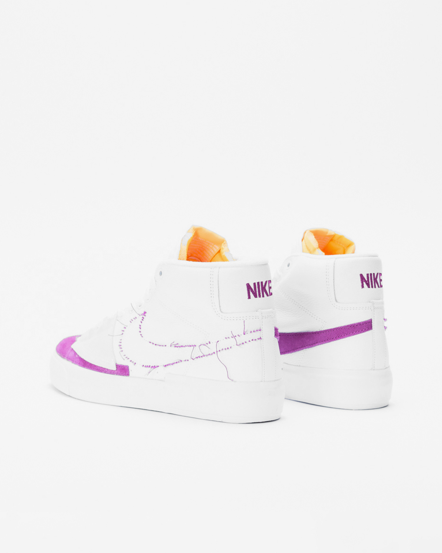Nike sb zoom blazer mid edge l White/viotech-white