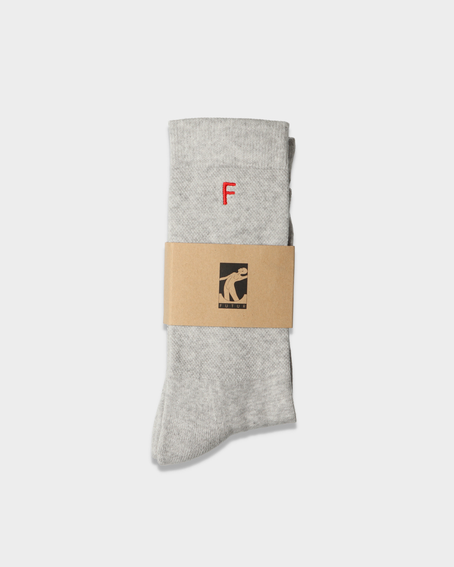 Futur F Socks Heather Grey