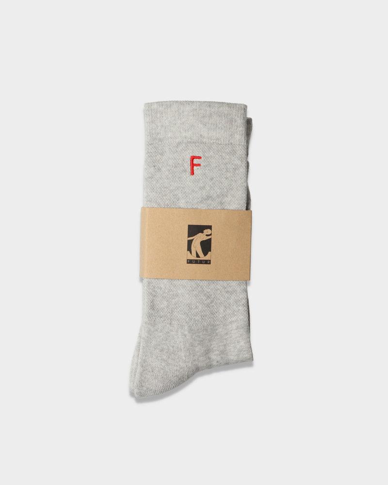 Futur Futur F Socks Heather Grey