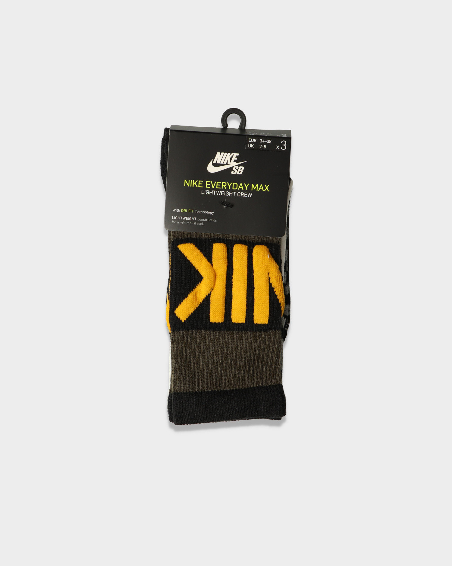 Nike SB Everyday Max Lightweight Socks Multi Color