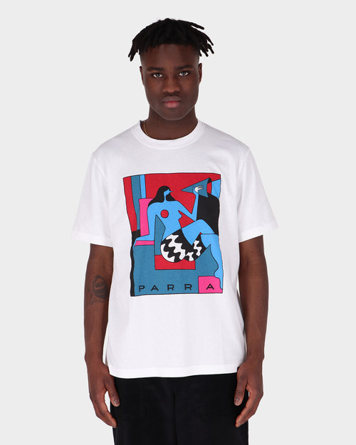 Parra Parra Too Loud T-shirt White