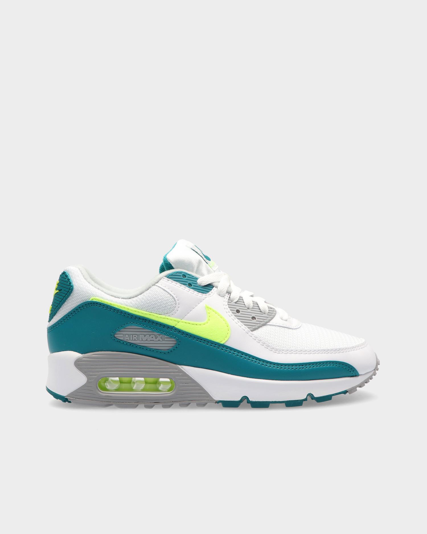 Nike Air Max III White/hot lime-spruce-grey fog