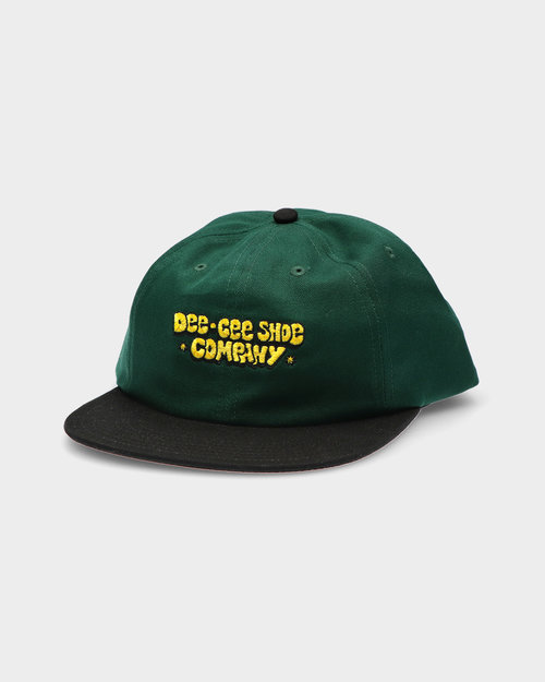 DC DC Cap Green/Gold