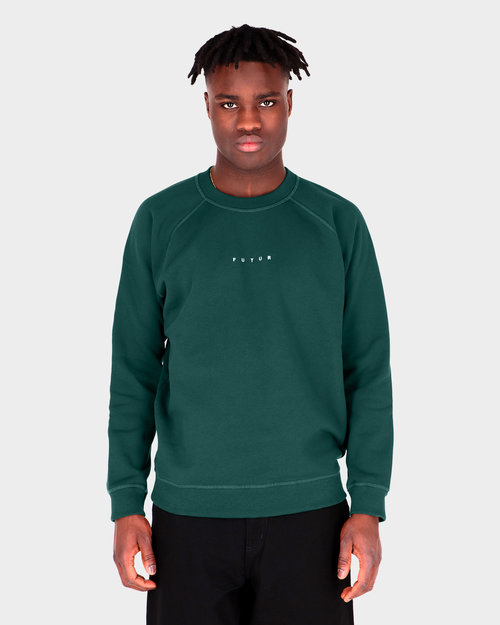 Futur Futur Raglan G Fit Crew Forest Green